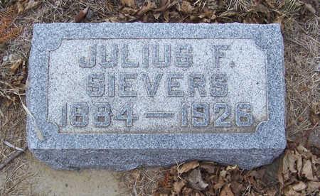 SIEVERS, JULIUS F. - Shelby County, Iowa   JULIUS F. SIEVERS