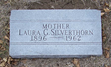 SILVERTHORN, LAURA G. (MOTHER) - Shelby County, Iowa   LAURA G. (MOTHER) SILVERTHORN