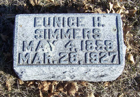 SIMMERS, EUNICE H. - Shelby County, Iowa | EUNICE H. SIMMERS