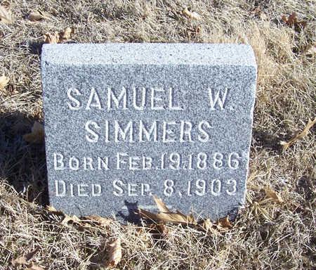 SIMMERS, SAMUEL W. - Shelby County, Iowa | SAMUEL W. SIMMERS