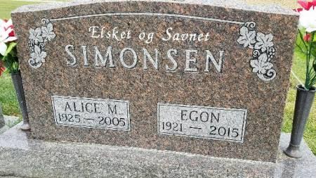 SIMONSEN, EGON - Shelby County, Iowa | EGON SIMONSEN