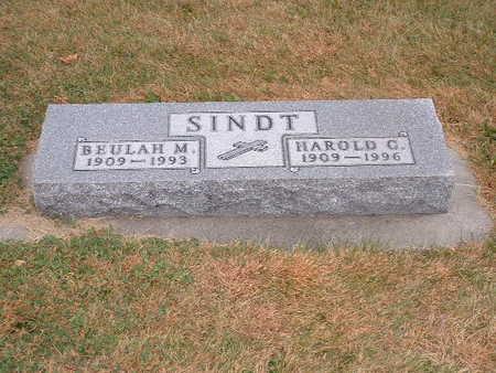CARSTENSEN SINDT, BEULAH - Shelby County, Iowa | BEULAH CARSTENSEN SINDT