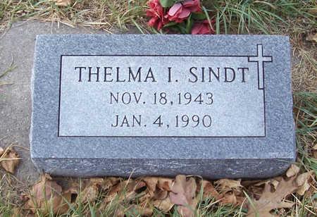 SINDT, THELMA I. - Shelby County, Iowa | THELMA I. SINDT