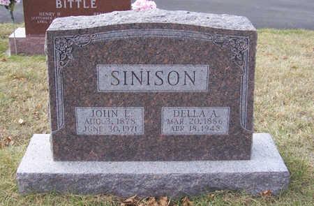 SINISON, DELLA A. - Shelby County, Iowa | DELLA A. SINISON