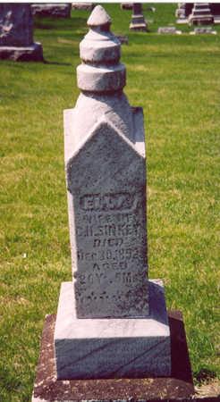 SINKEY, ELLA - Shelby County, Iowa | ELLA SINKEY