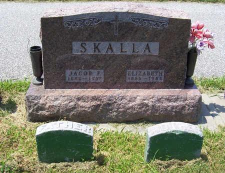 VICARIUS SKALLA, ELIZABETH (MOTHER) - Shelby County, Iowa | ELIZABETH (MOTHER) VICARIUS SKALLA