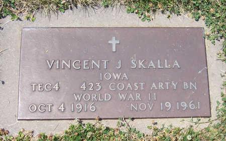 SKALLA, VINCENT J. (MILITARY) - Shelby County, Iowa | VINCENT J. (MILITARY) SKALLA
