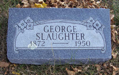 SLAUGHTER, GEORGE - Shelby County, Iowa | GEORGE SLAUGHTER