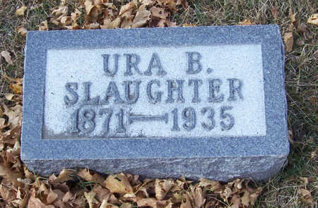 SLAUGHTER, URA B. - Shelby County, Iowa | URA B. SLAUGHTER