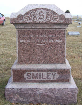 FAGAN SMILEY, LESTA - Shelby County, Iowa | LESTA FAGAN SMILEY