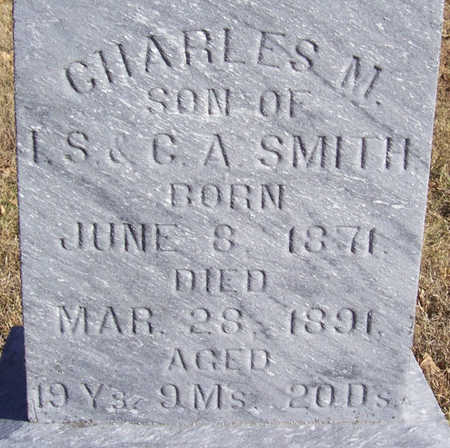 SMITH, CHARLES M. (CLOSE-UP) - Shelby County, Iowa   CHARLES M. (CLOSE-UP) SMITH