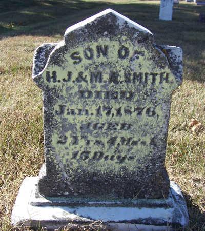 SMITH, HENRY (BACK) - Shelby County, Iowa   HENRY (BACK) SMITH