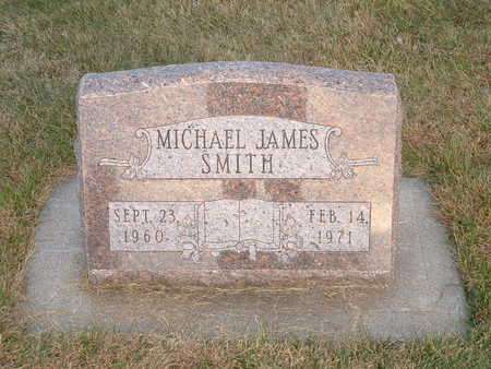 SMITH, MICHAEL JAMES - Shelby County, Iowa   MICHAEL JAMES SMITH
