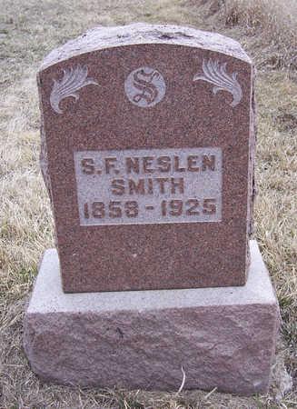SMITH, S. F. NESLEN - Shelby County, Iowa   S. F. NESLEN SMITH