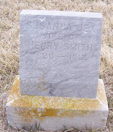 JEX SMITH, SUSANNA - Shelby County, Iowa | SUSANNA JEX SMITH