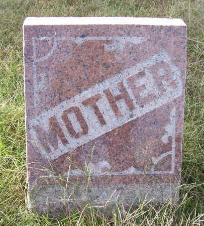 SMITH, SUSANNAH J. (MOTHER) - Shelby County, Iowa | SUSANNAH J. (MOTHER) SMITH