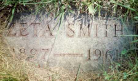SMITH, ZETA - Shelby County, Iowa | ZETA SMITH