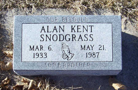 SNODGRASS, ALAN KENT - Shelby County, Iowa | ALAN KENT SNODGRASS