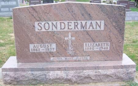 KENKEL SONDERMAN, ELIZABETH - Shelby County, Iowa   ELIZABETH KENKEL SONDERMAN