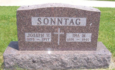 POTTER SONNTAG, INA M. - Shelby County, Iowa   INA M. POTTER SONNTAG