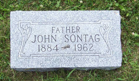 SONTAG, JOHN (FATHER) - Shelby County, Iowa   JOHN (FATHER) SONTAG