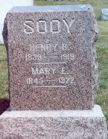 SOOY, HENRY B. & MARY E. - Shelby County, Iowa | HENRY B. & MARY E. SOOY