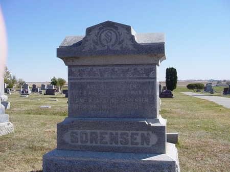 SORENSEN, ANE KIRSTINE - Shelby County, Iowa | ANE KIRSTINE SORENSEN