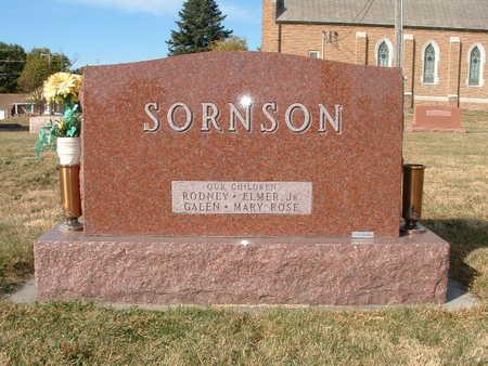 SORNSON, ELMER THEODORE - Shelby County, Iowa | ELMER THEODORE SORNSON