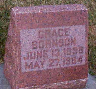 SORNSON, GRACE - Shelby County, Iowa   GRACE SORNSON