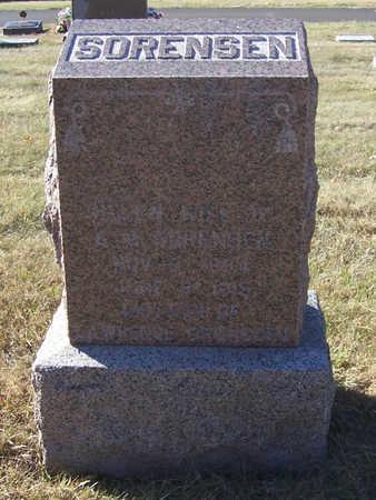 SORENSEN, HELEN - Shelby County, Iowa | HELEN SORENSEN
