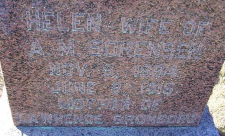 SORENSEN, HELEN (CLOSE-UP) - Shelby County, Iowa | HELEN (CLOSE-UP) SORENSEN