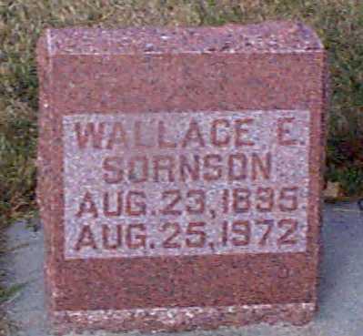SORNSON, WALLACE E - Shelby County, Iowa | WALLACE E SORNSON