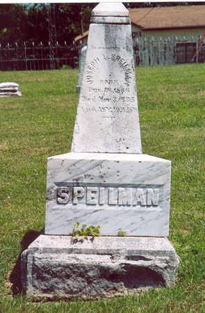 SPIELMAN, JOSEPH L. - Shelby County, Iowa | JOSEPH L. SPIELMAN