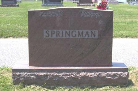 SPRINGMAN, CARL & EVA (LOT) - Shelby County, Iowa | CARL & EVA (LOT) SPRINGMAN