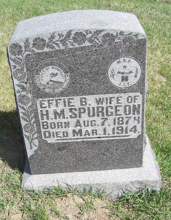 SPURGEON, EFFIE B. - Shelby County, Iowa | EFFIE B. SPURGEON