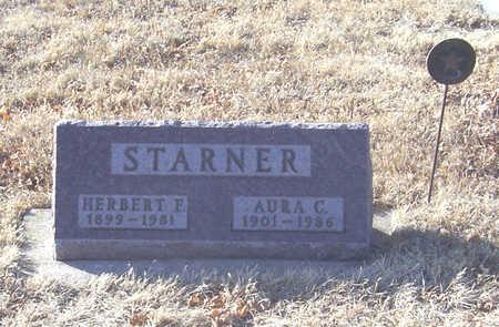 STARNER, AURA C. - Shelby County, Iowa   AURA C. STARNER