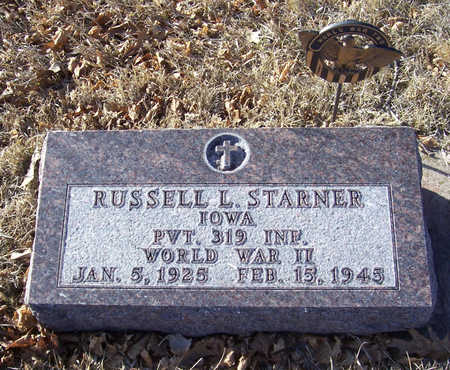 STARNER, RUSSELL L. (MILITARY) - Shelby County, Iowa | RUSSELL L. (MILITARY) STARNER