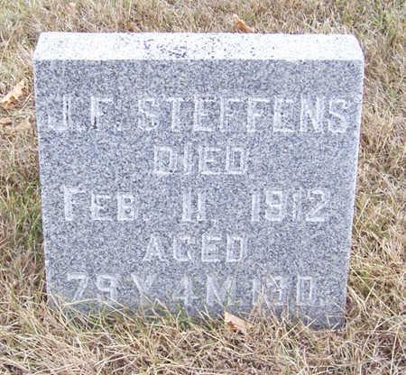 STEFFENS, J. F. - Shelby County, Iowa | J. F. STEFFENS
