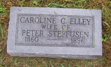 ELLEY STEFFUSEN, CAROLINE C. - Shelby County, Iowa | CAROLINE C. ELLEY STEFFUSEN