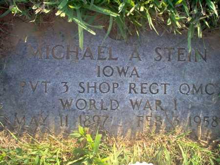 STEIN, MICHAEL A. - Shelby County, Iowa | MICHAEL A. STEIN