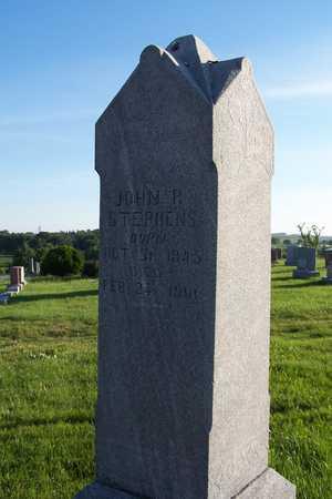 STEPHENS, JOHN R. - Shelby County, Iowa | JOHN R. STEPHENS