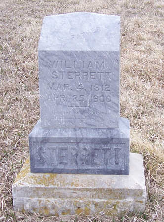 STERRETT, WILLIAM - Shelby County, Iowa   WILLIAM STERRETT