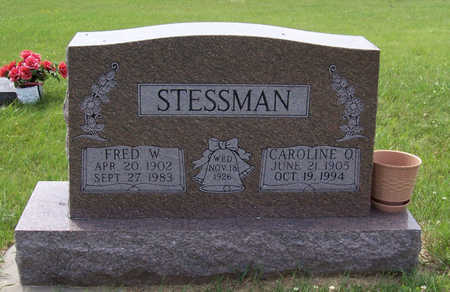 STESSMAN, FRED W. - Shelby County, Iowa | FRED W. STESSMAN