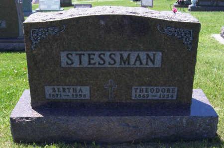 HUETTEMAN STESSMAN, BERTHA - Shelby County, Iowa | BERTHA HUETTEMAN STESSMAN
