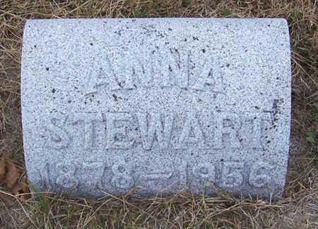 STEWART, ANNA - Shelby County, Iowa   ANNA STEWART