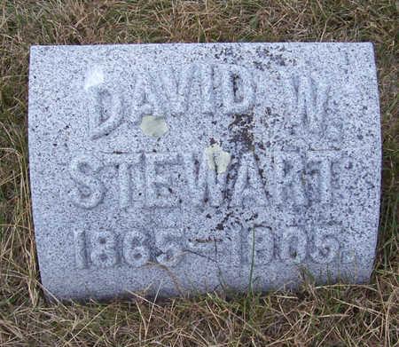 STEWART, DAVID W. - Shelby County, Iowa | DAVID W. STEWART