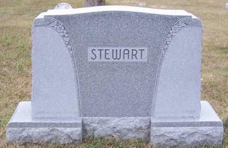 STEWART, MARY E.-HANNAH B.-ANDREW W. (LOT) - Shelby County, Iowa | MARY E.-HANNAH B.-ANDREW W. (LOT) STEWART