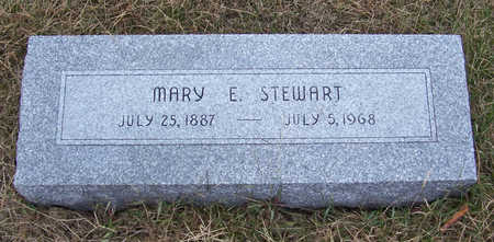 STEWART, MARY E. - Shelby County, Iowa | MARY E. STEWART