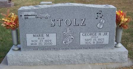 STOLZ, MARIE M. - Shelby County, Iowa | MARIE M. STOLZ