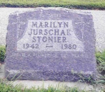 JURSCHAK STONIER, MARILYN - Shelby County, Iowa | MARILYN JURSCHAK STONIER
